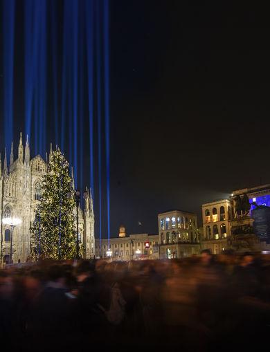 Piazza Duomo Christmas Tree
