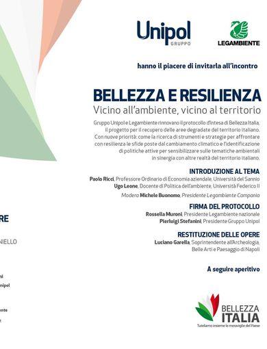 Programma Bellezza e resilienza