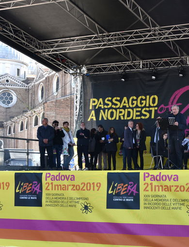 The XXIV National Day of Remembrance held in Padua on 21 March