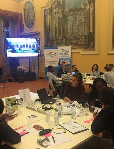 "Hackathon ""#HackDiversAbility: la Creatività inclusiva"""