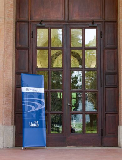 Entrance of Villa Cicogna, San Lazzaro di Savena (BO) Headquarter of UNICA