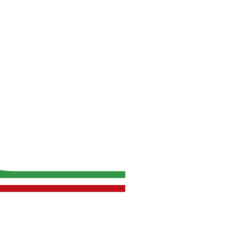 UG negative logo - Italian Flag Edition